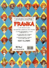 Verso de Franka (BD Must) -16TT03- Succès assuré