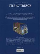 Verso de Les incontournables de la littérature en BD -1- L'Île au trésor
