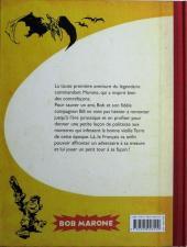 Verso de Bob Marone -INT- Le dinosaure blanc