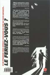 Verso de 100 Bullets (albums brochés) -1a- Première salve