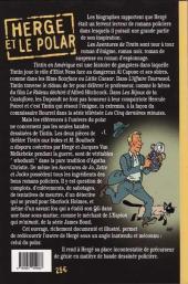 Verso de (AUT) Hergé -117- Hergé et le polar