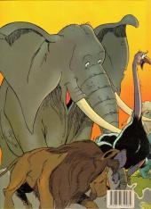 Verso de Boulouloum et Guiliguili (Les jungles perdues) -1a- Le grand Safari