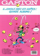 Verso de Gaston -9c91- Le cas Lagaffe