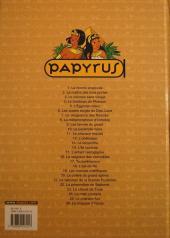 Verso de Papyrus -1b2003- La momie engloutie