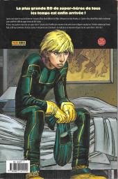 Verso de Kick-Ass -1- Le premier vrai super-héros