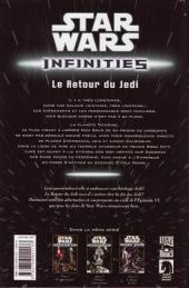 Verso de Star Wars - Infinities -3- Le retour du Jedi