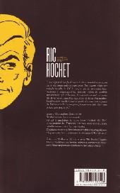 Verso de Ric Hochet -HS7- Reconnaissance de meurtres