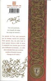 Verso de Embalming - Une autre histoire de Frankenstein -1- Tome 1