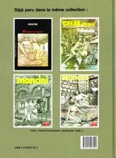 Verso de Les trois Mousquetaires (Mancini) -1- Tome 1