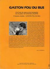 Verso de Gaston (Hors-série) -FB28- Fou du bus - STAP