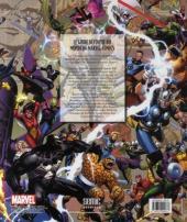 Verso de (DOC) Marvel Comics - Les chroniques de Marvel : de 1939 à aujourd'hui