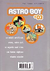 Verso de Astro Boy (Kana) -3- Anthologie 03