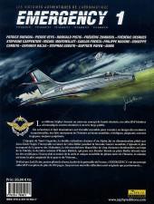 Verso de Emergency - Les Histoires authentiques de l'aéronautique -1- N° 1