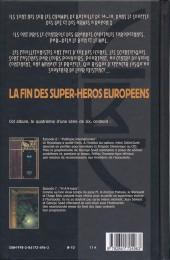 Verso de La brigade Chimérique -4- Politique internationale - H.A.V. Russe