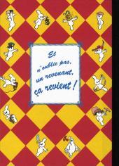 Verso de Arthur le fantôme justicier (Arapu) -1- Les mousquetaires irascibles