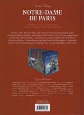 Verso de Les incontournables de la littérature en BD -4- Notre-Dame de Paris