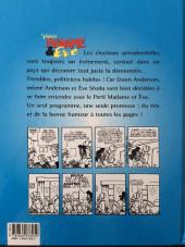 Verso de Madame et Eve -2- Votez Madame et Eve