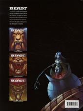 Verso de Beast -3- Tône-Teht, le passeur d'âmes