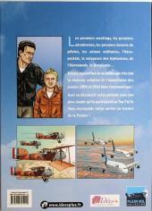 Verso de L'histoire de l'aéronautique -2- 1909, l'année de tous les défis !