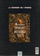 Verso de Le serment de l'Ambre -2- Portendick