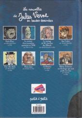 Verso de Poèmes en bandes dessinées - Les nouvelles de Jules Verne en bandes dessinées