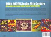 Verso de Buck Rogers in the 25th century -3- Volume 3 : The complete newspaper dailies (1932-1934)