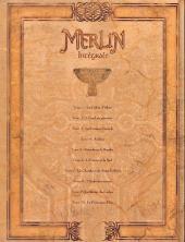 Verso de Merlin (Nucléa/Soleil) -INT3- Intégrale (Tomes 1 à 10)