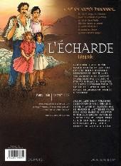 Verso de Secrets - L'écharde -INT- Intégrale