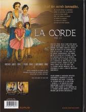 Verso de Secrets - La corde -1- Tome 1/2