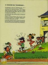 Verso de Modeste et Pompon (Franquin) -1a'73- 60 aventures de Modeste et Pompon