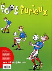 Verso de Les foot furieux -7- Tome 7