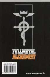 Verso de FullMetal Alchemist -23- Tome 23