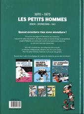 Verso de Les petits hommes -INT02- Intégrale 1970-1973