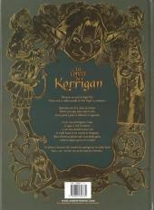 Verso de Les contes du Korrigan -3a- Livre troisième : les Fleurs d'écume