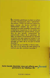 Verso de (AUT) Cornillon -Pub- Cap génétique - Voyage au cœur de la vie