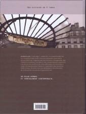 Verso de Metropolitan -1- Borderline