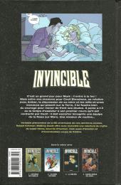 Verso de Invincible -4- Super-héros un jour...