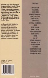 Verso de Tintin - Divers -20- Un livre, une œuvre - Hergé