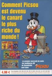 Verso de Picsou Magazine Hors-Série -10- Les trésors de Picsou - Spécial Rapetou
