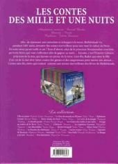 Verso de Les incontournables de la littérature en BD -8- Les Contes des mille et une nuits