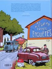 Verso de Jacques Gipar (Une aventure de) -1- Le gang des pinardiers