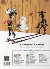 Verso de Lucky Luke -32Or- La Diligence