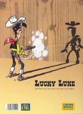 Verso de Lucky Luke -41Or- L'Héritage de Rantanplan