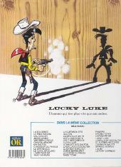 Verso de Lucky Luke -44Or- La Guérison des Dalton