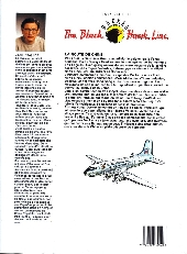 Verso de Black Hawk Line (The) -1- La route de Chine
