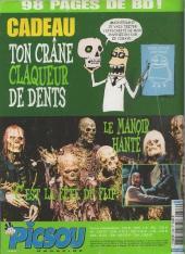Verso de Picsou Magazine -386- Picsou Magazine N°386
