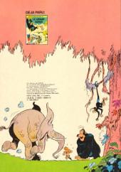 Verso de Boulouloum et Guiliguili (Les jungles perdues) -2- Chasseurs d'ivoire