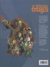 Verso de Le maître des Ogres -1- Île des Os