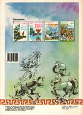 Verso de Les centaures (Desberg/Seron) -4- Les Amazones