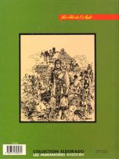 Verso de Les fils de l'aigle -3- Les sables de Denderah
